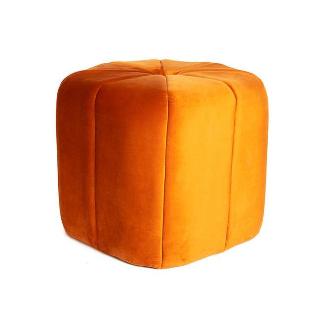 poef oranje dia 46 H40 cm