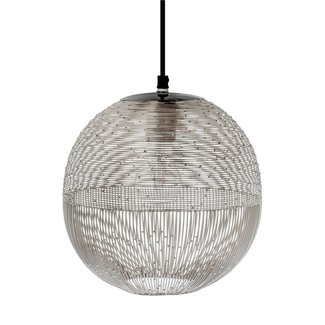 Riverdale hanglamp Ilse zilver 27 cm