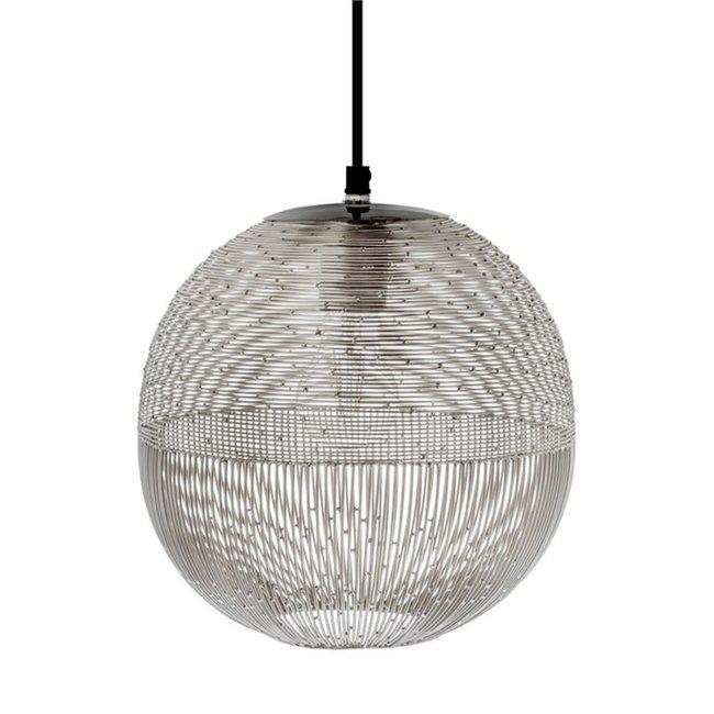 hanglamp Ilse zilver 27 cm