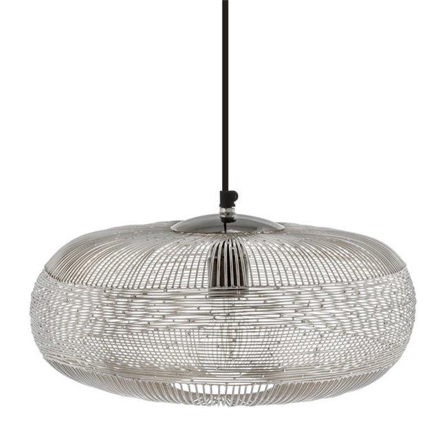 Hanglamp Ilse zilver 36 cm