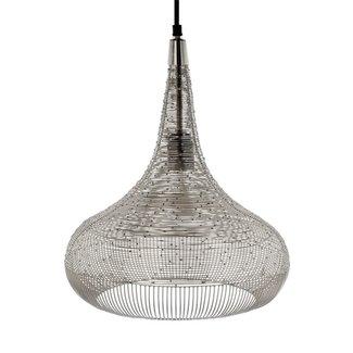 Riverdale Hanglamp Ilse zilver 40 cm