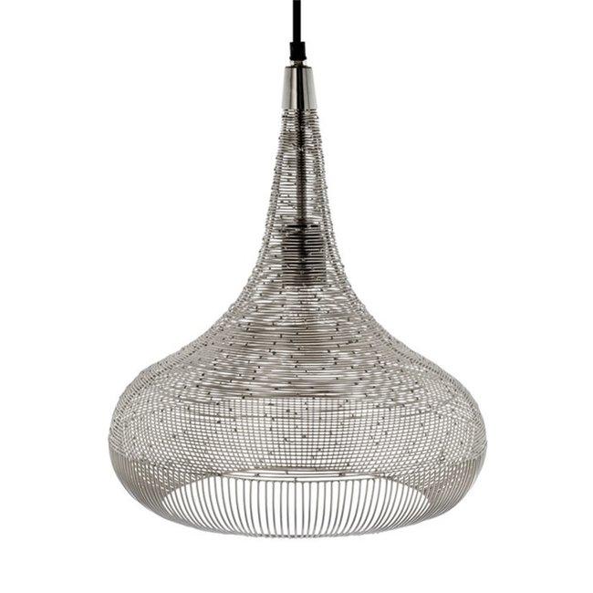 Hanglamp Ilse zilver 40 cm