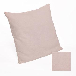 Simla Kussensloop linnen stonewash dusty pink 60x60 cm