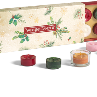 Yankee Candle Magical Christmas Morning 10 Tealights + holder