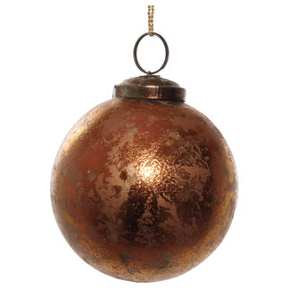 shishi glass ball antique copper 7,5 cm