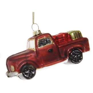 shishi glas car aged red 11 cm
