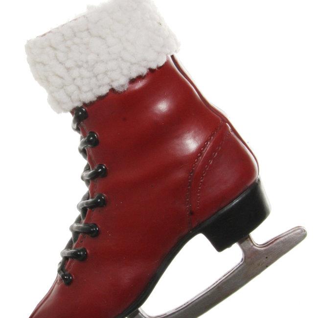 skating shoe red 17 cm