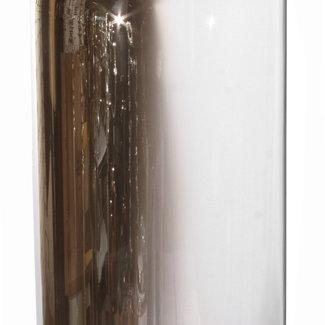 shishi Glass dome half silver 30x58 cm