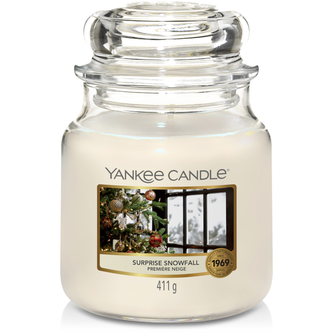 Yankee Candle Surprise Snowfall medium jar