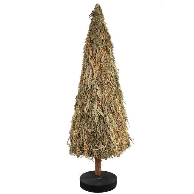 christmas Grass natural dried grass tree round XL