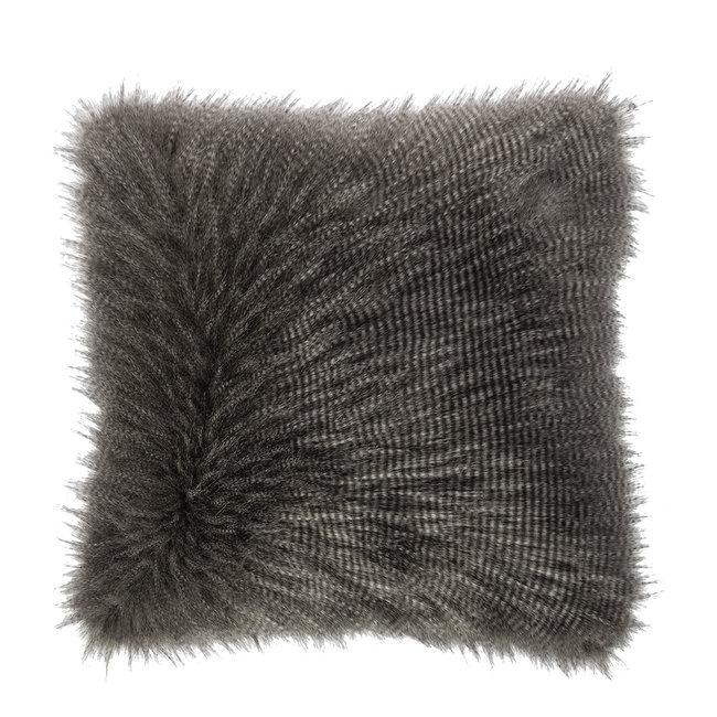 Kussen fury grijs 50x50cm