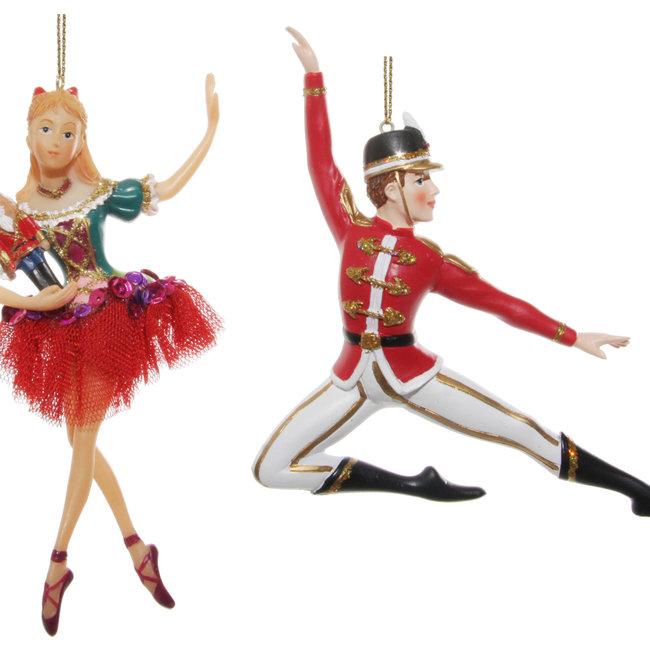 Nutcracker dancers mix2 13-17 cm