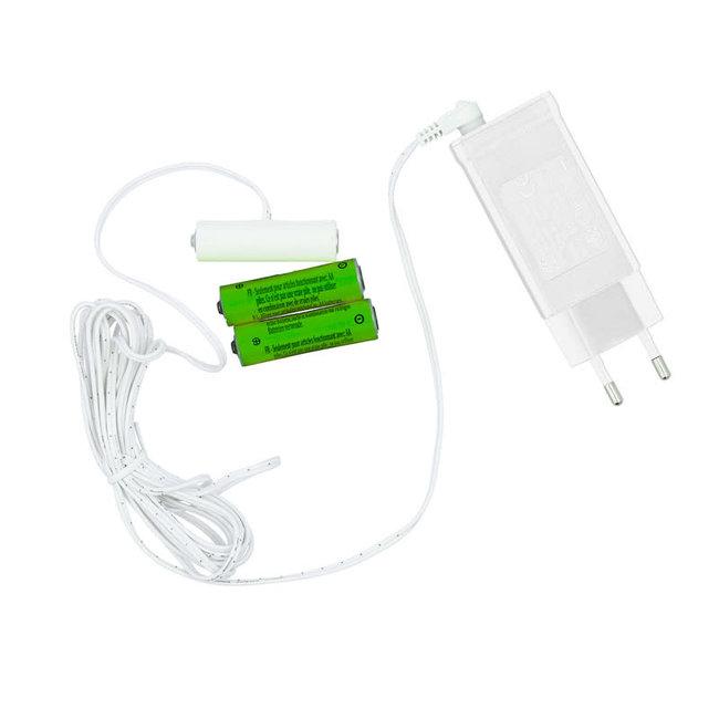 AA decopower Batterij Adapter
