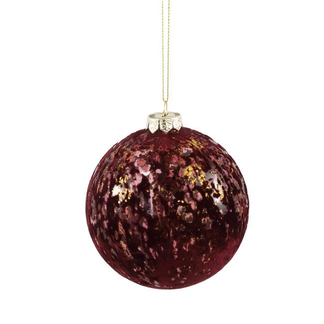 PTMD Fluflu burgundy glass stormlight glitter round l