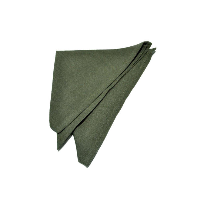 Serviet polyester khaki 40x40