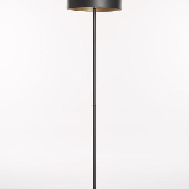 Floorlamp Oslo 0960 D400 black gold 3xE14