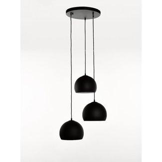 Marckdael Ceiling lamp 270-pl3 rond sf240 zwart