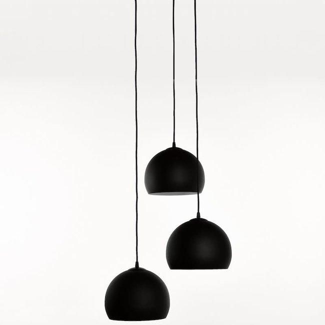 Ceiling lamp 270-pl3 rond sf240 zwart