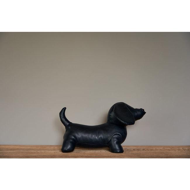 JF The Reborn Home deurstop sausage dog black