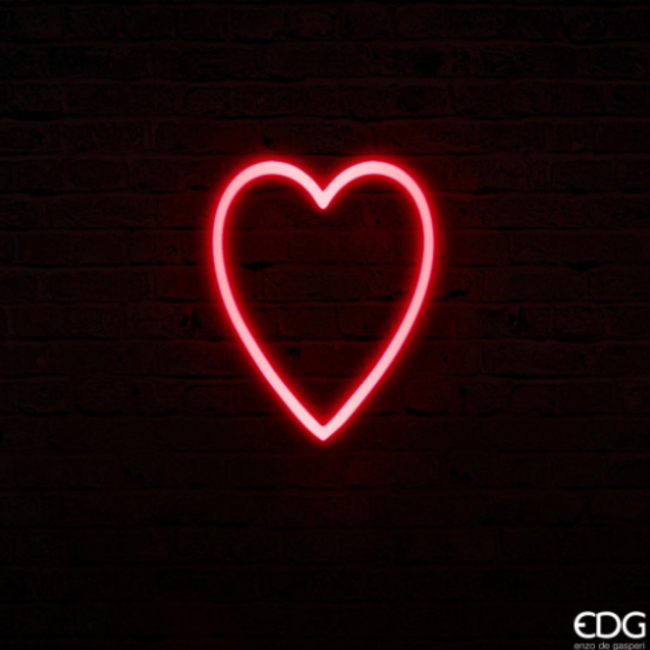 Neon led coeur medium H30x24