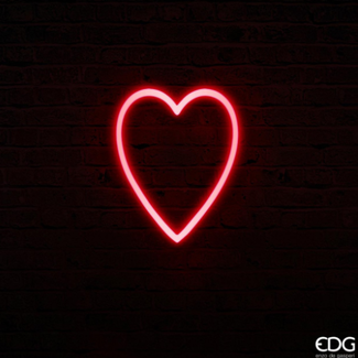 EDG Neon led coeur large H40x32