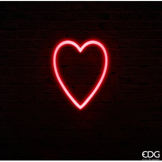 EDG Neon led coeur large H40x32