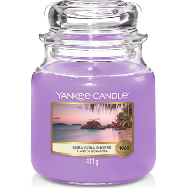 Yankee Candle Bora bora shores medium jar