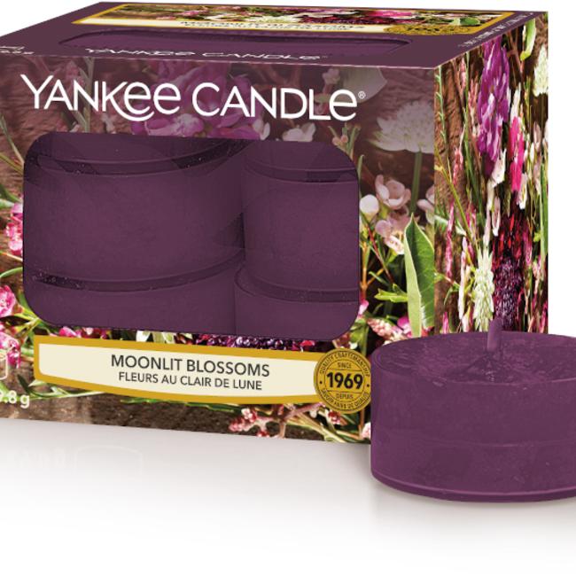 Moonlit Blossoms tea lights 12 st
