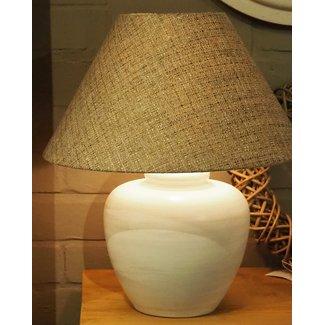 Marckdael Lucca large white H 33 cm tafellamp