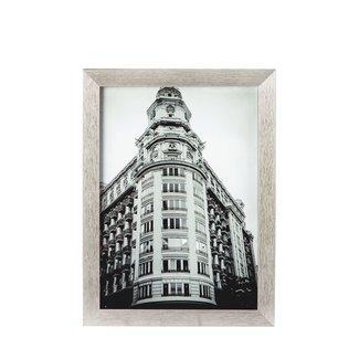 Riverdale Schilderij building zilver 30x40