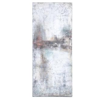 Simla schilderij abstract 80x190 cm