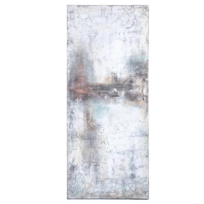 schilderij abstract 80x190 cm