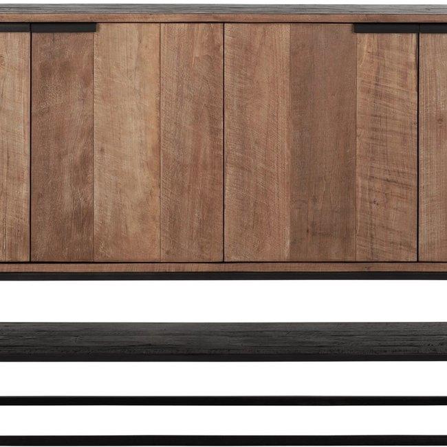 Dressoir nr 2 4 doors- 100X185X40 cm recyled teak