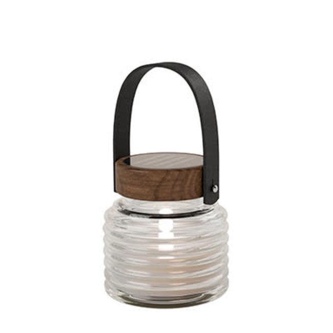 Aston solar jar dia 12xH12 brown
