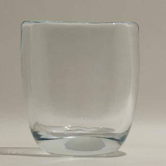 JF The Reborn Home Vaas ovaal orga H17,5 cm clear