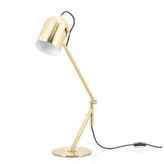 Byboo Tafellamp Sleek gold