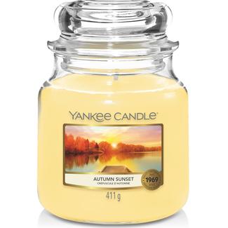 Yankee Candle Autumn sunset medium jar