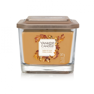 Yankee Candle Amber & acorn medium vessel