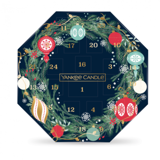 Yankee Candle Countdown to Christmas adevent wreath calendar