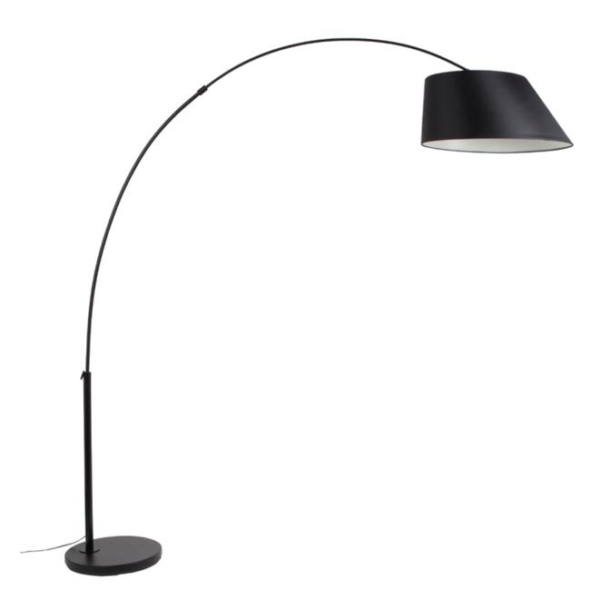 Floorlamp arc black