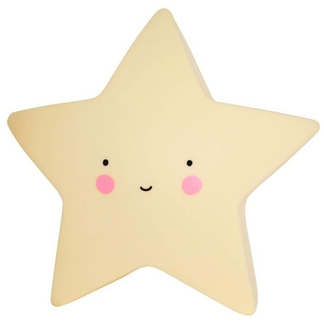 mini star light yellow