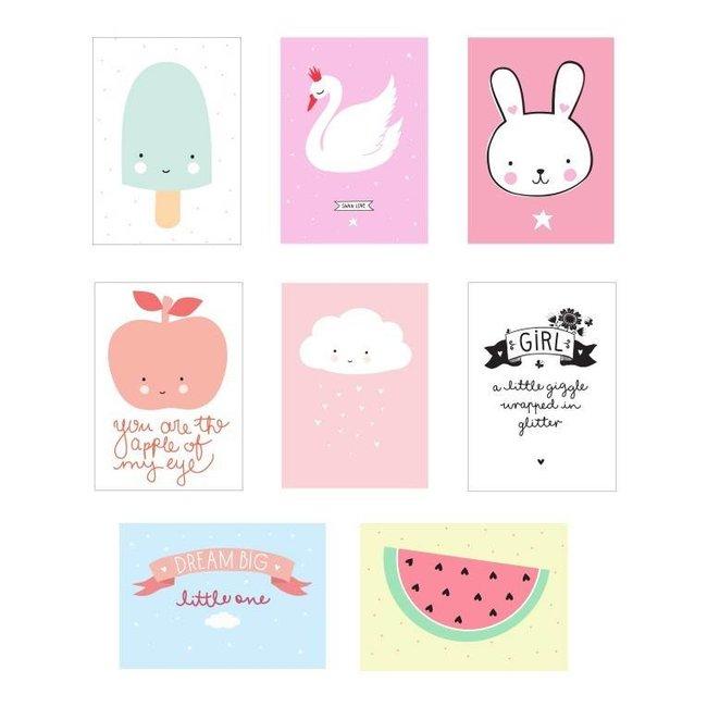 Lightbox sheets : little girl