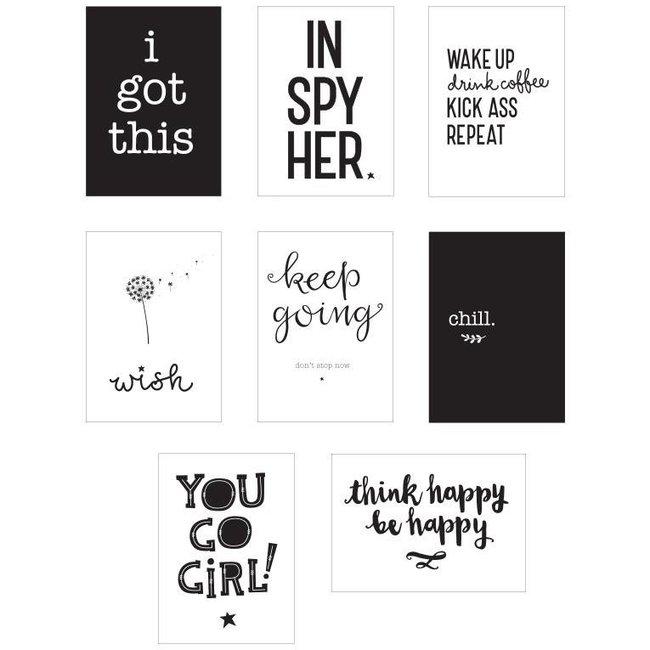 Lightbox sheets : inspire