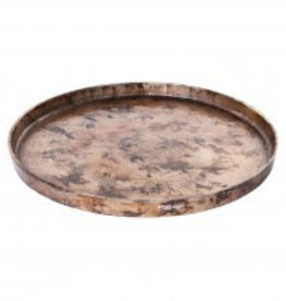 PTMD Aluminium copper round bowl m