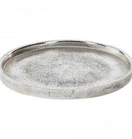 PTMD Aluminium rough round bowl L 50x50x3