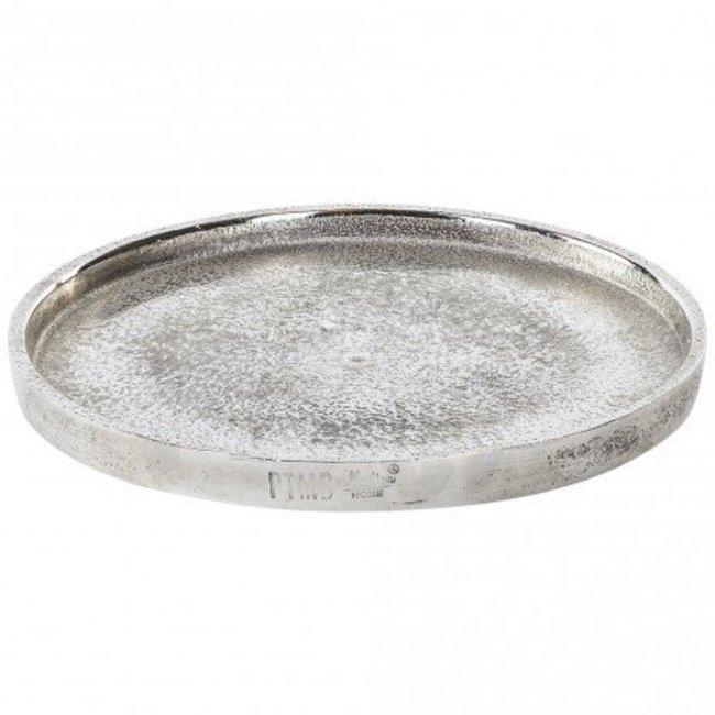Aluminium rough round bowl L 50x50x3