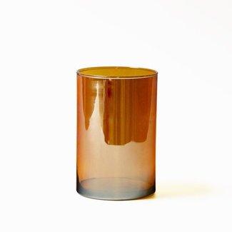 Vaas glas honey