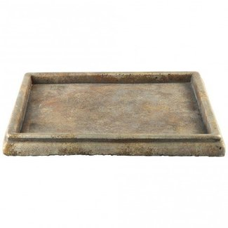 Finley Brown cement plate square m