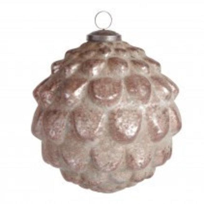 Christmas groves Brown glass ball M