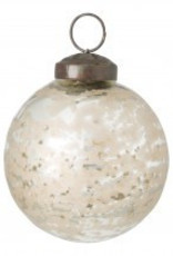 christmas odyn gold glass ball xs